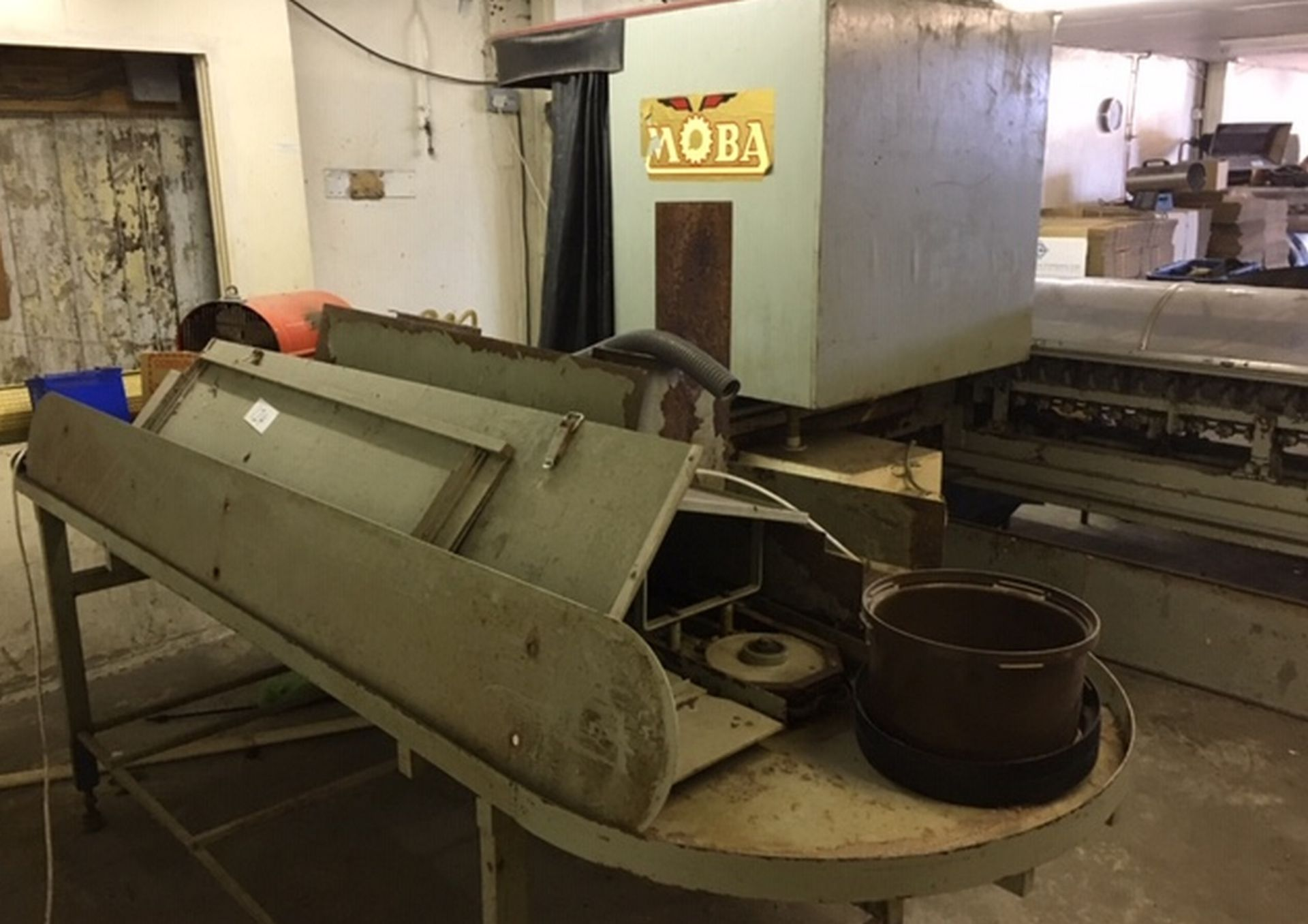 Lot 123 - Extensive Lot of Moba Egg Grading Machine and parts.