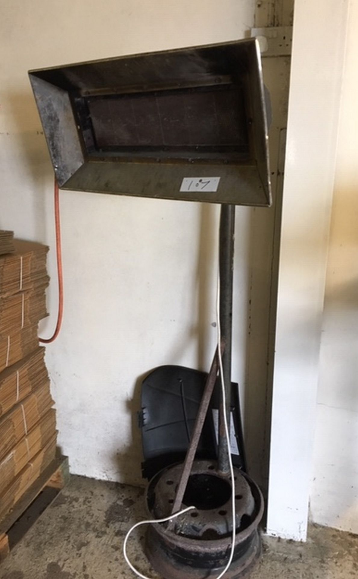Lot 107 - Large Heater.