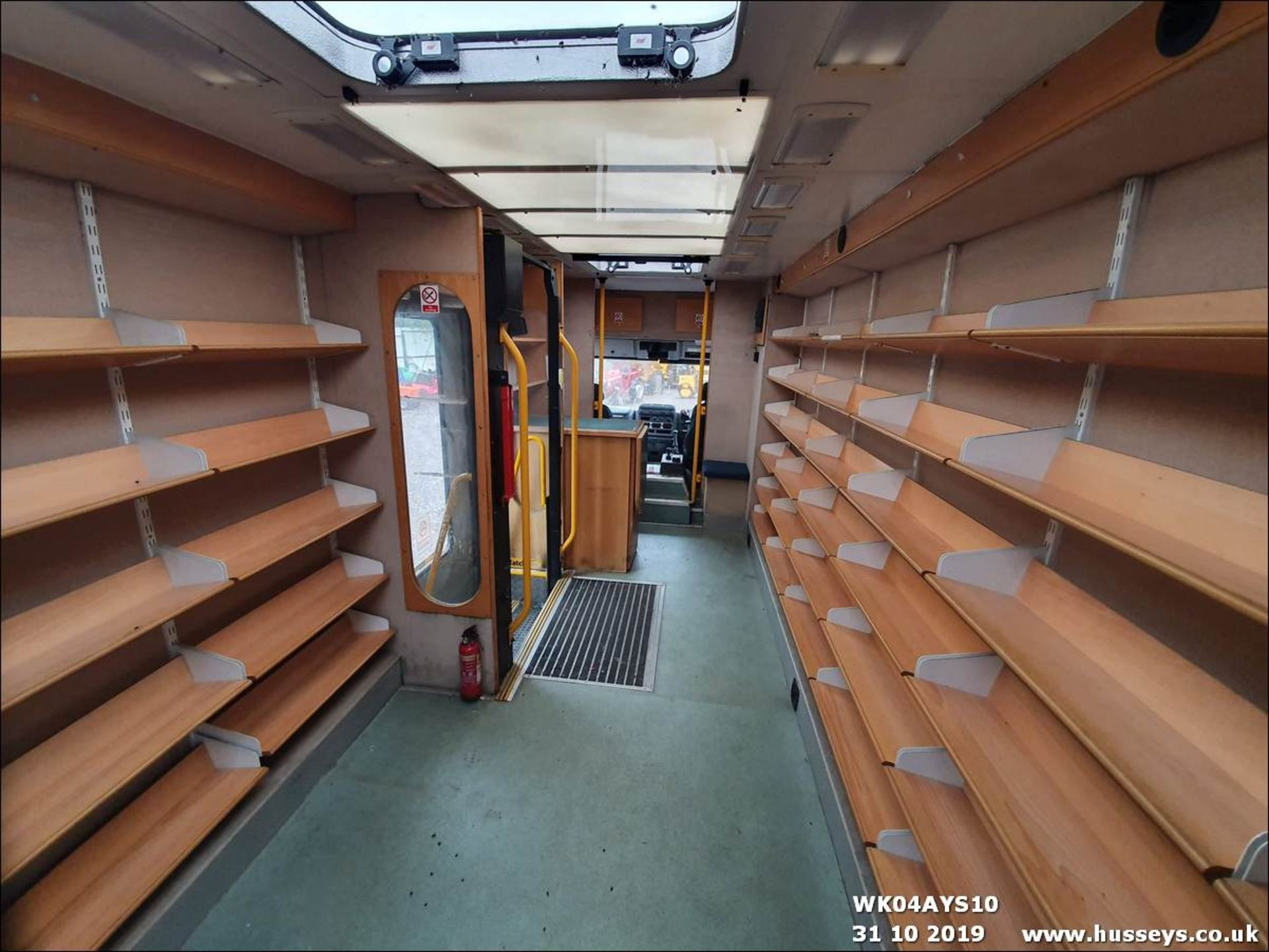 Lot 1501 - 2004 IVECO LIBRARY VAN