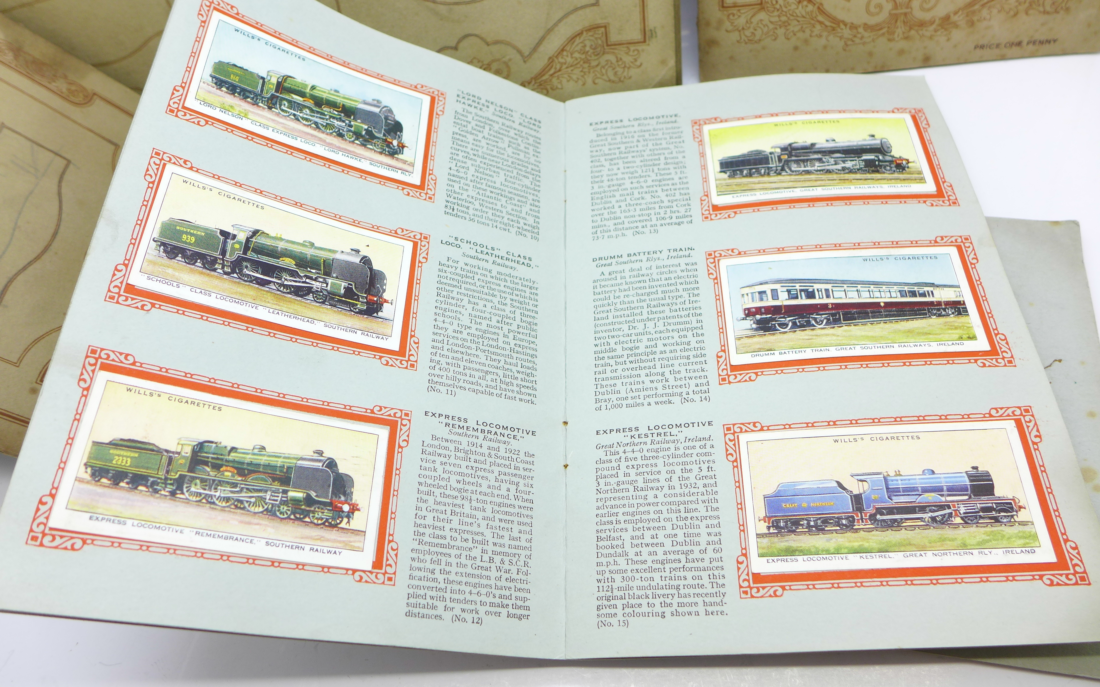 Lot 638 - A collection of cigarette cards,