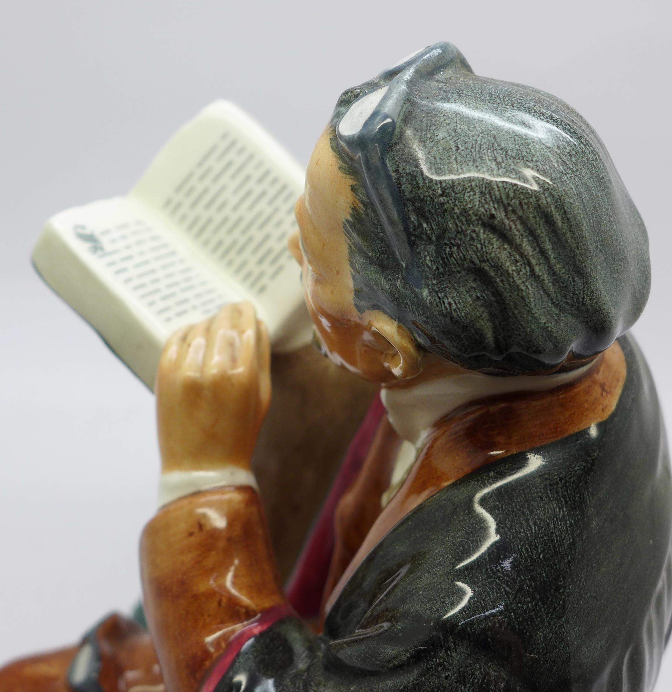 Lot 618 - A Royal Doulton figure, The Professor,