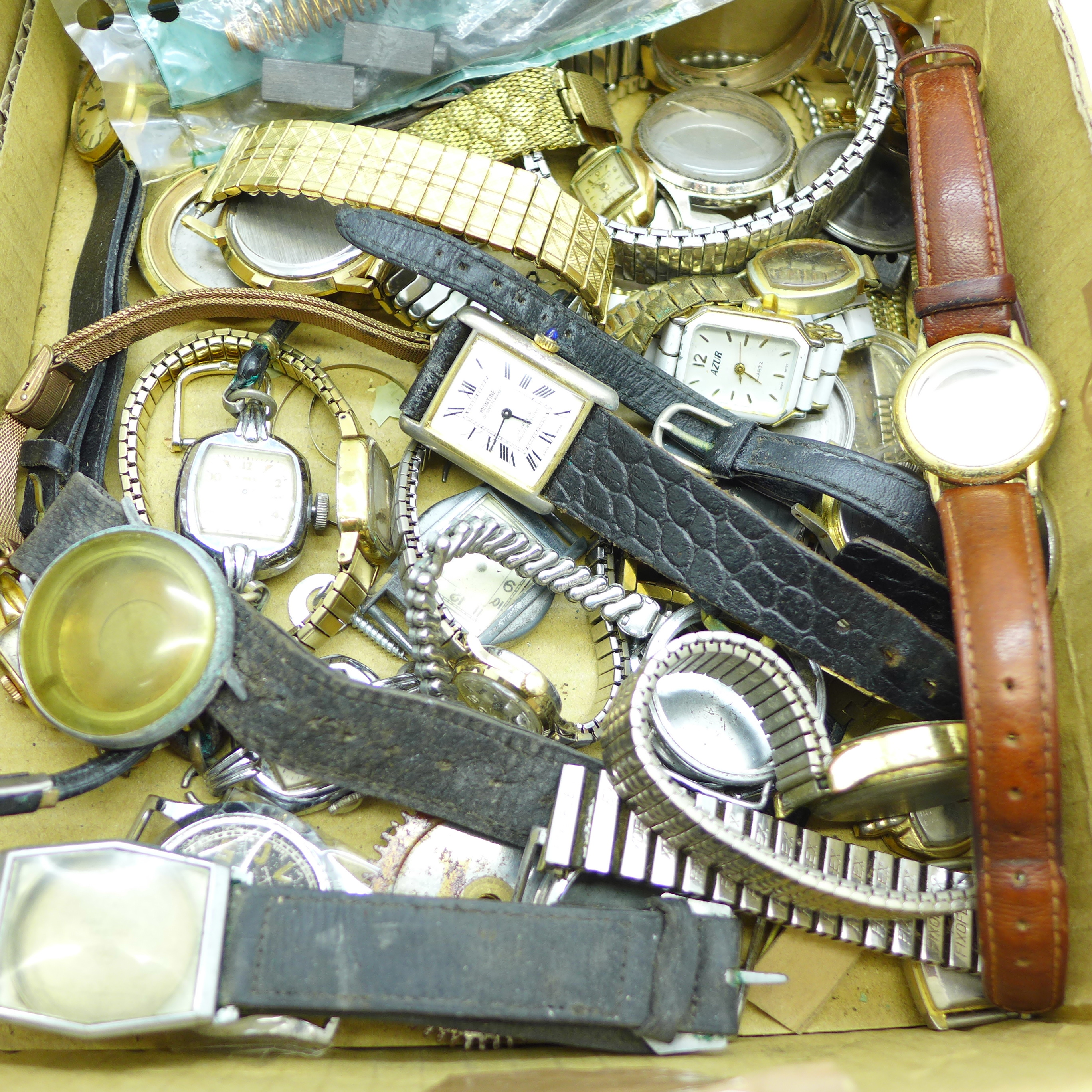 Lot 651 - Watches and cases