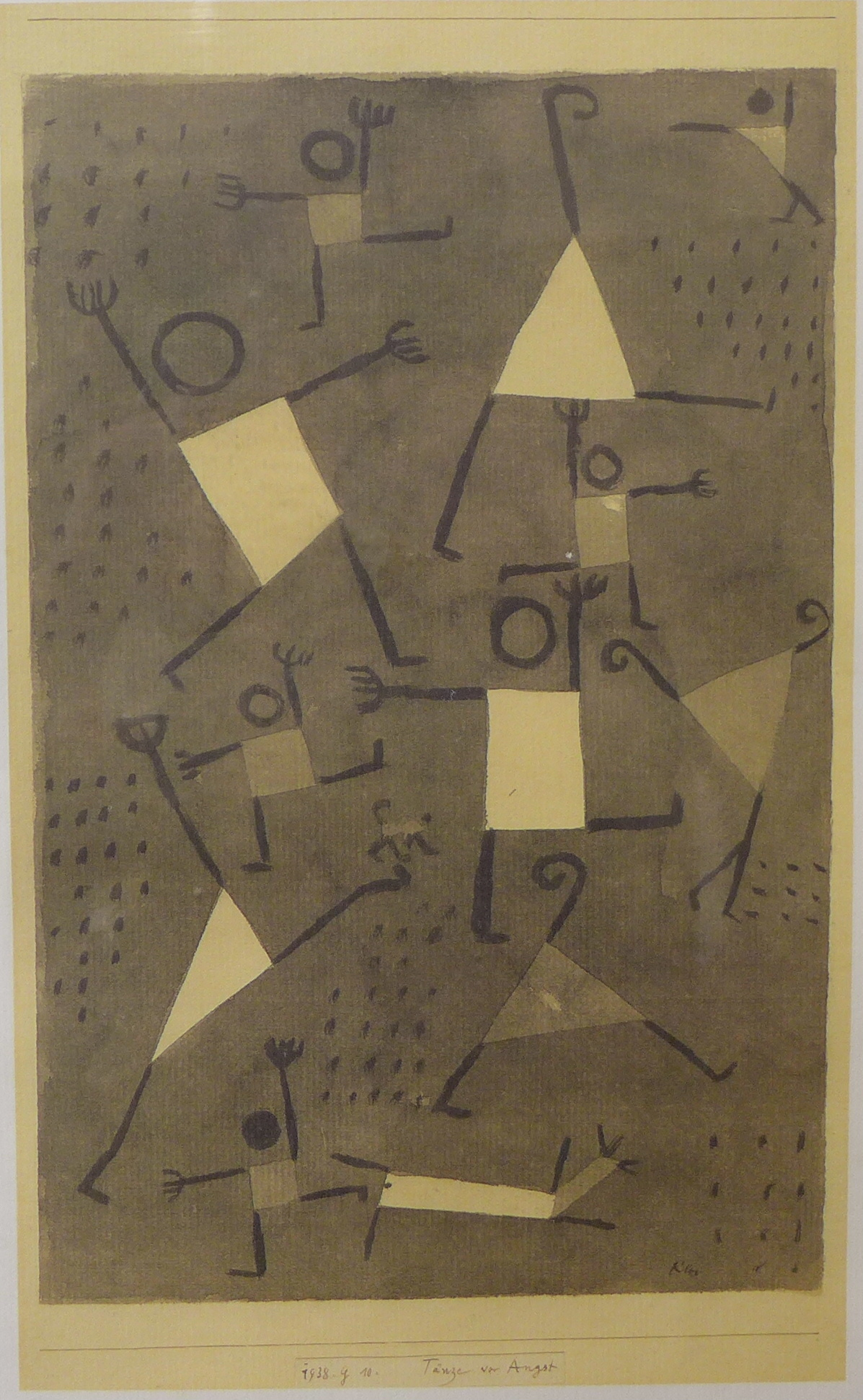 Lot 28 - A Paul Klee print, Tanze von Augst,