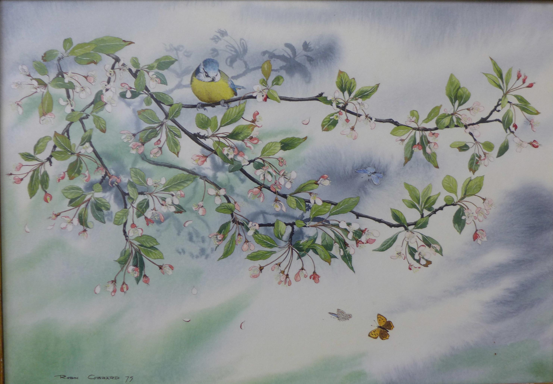 Lot 16 - Robin Gibbard (1930 - 2014), May Day, watercolour, 36 x 52cms,
