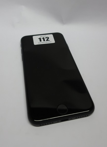 Lot 112 - An Apple iPhone 8 A1905 64GB in Space Grey (IMEI: 356767087597583) (Activation locked), (Sold for