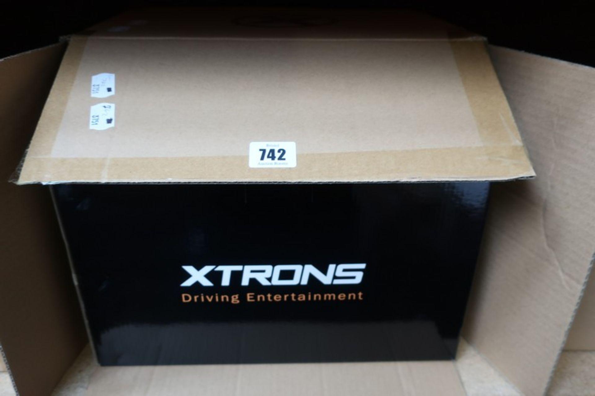 Lot 742 - A boxed as new Xtrons ICE/HU/PE9853BPL Android 8.0 Octa Core 4GB RAM + 32GB ROM multimedia car