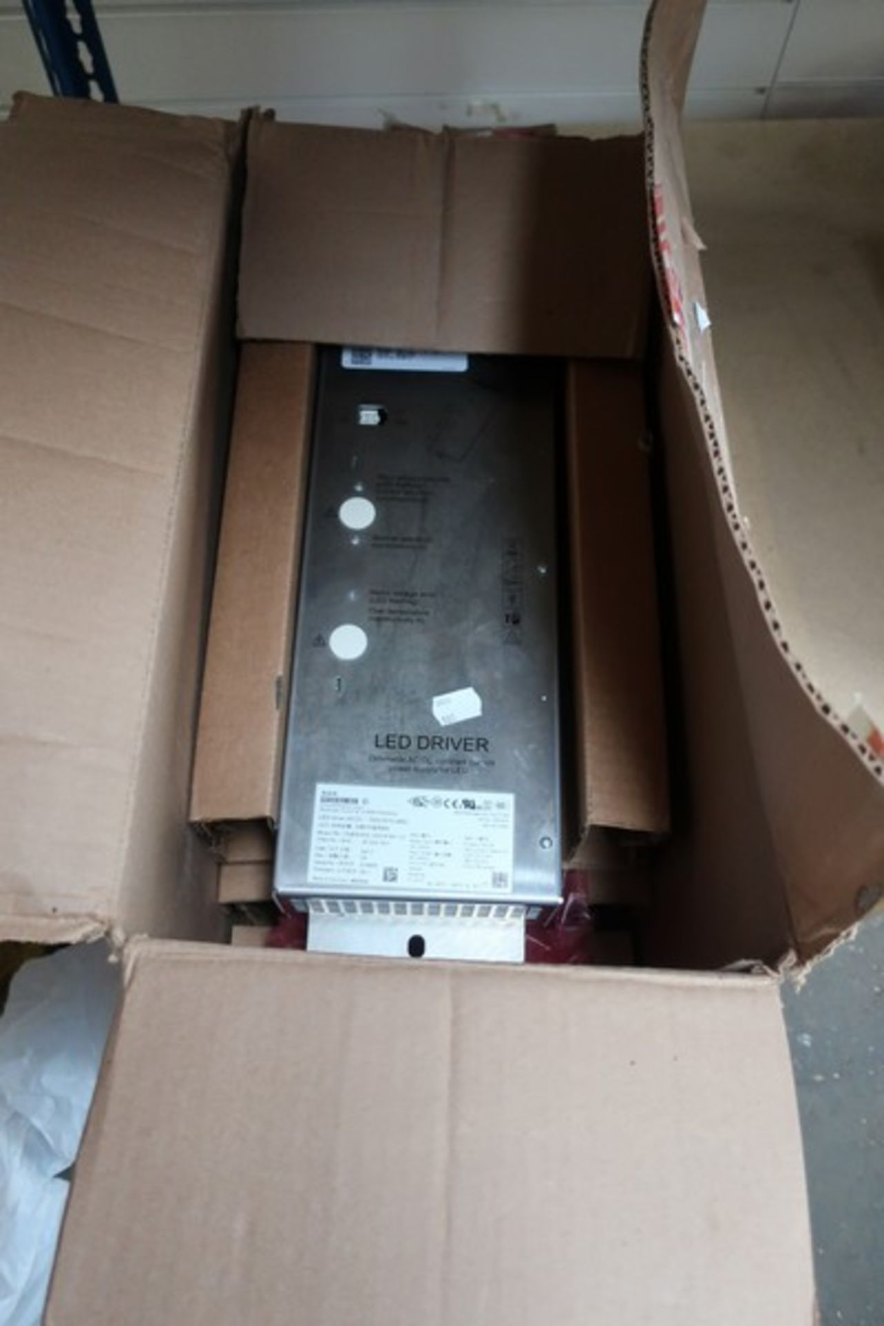 Lot 880 - Two Schilderwerk LED Driver dimmable AC/DC constant current power supplies (LED Drive 2A CC - 750V