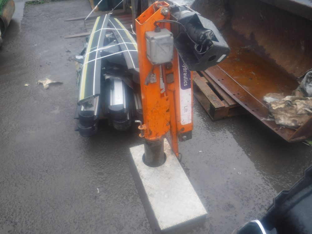 Lot 1133 - F500 SWING LIFT PENNY HYDRAULICS (DIRECT UNITED UTILITIES WATER) [+ VAT]