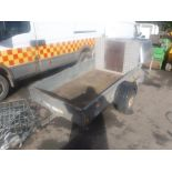 Lot 1171 - IFOR WILLIAMS SINGLE AXLE TRAILER [+ VAT]
