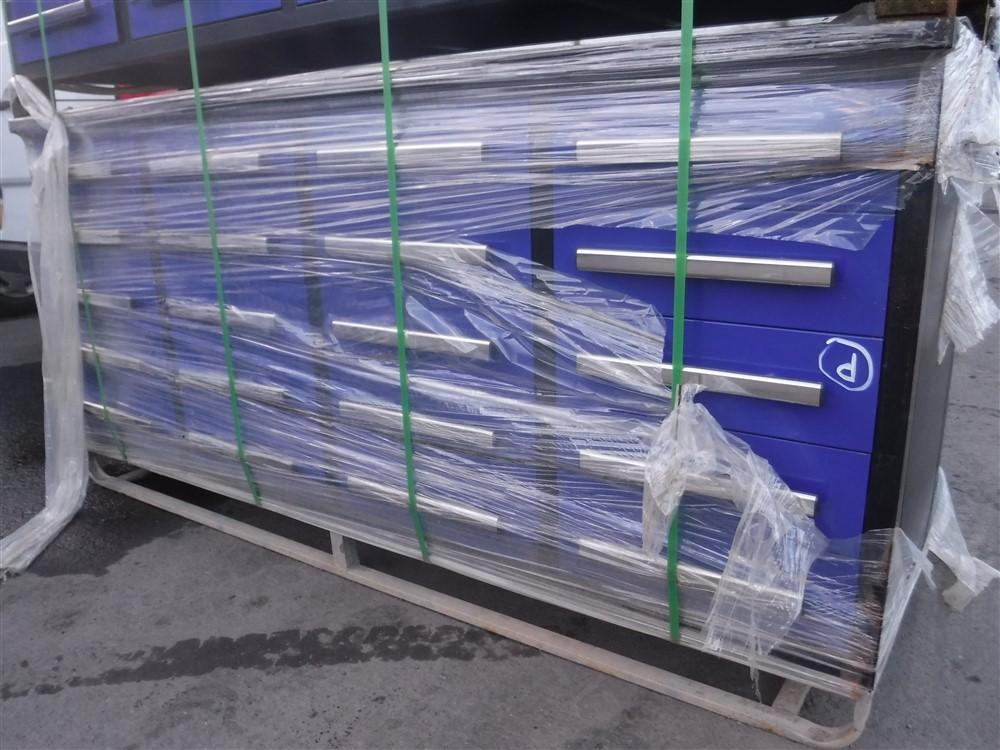 Lot 1152 - BLUE TOOL BOX (D) [+ VAT]