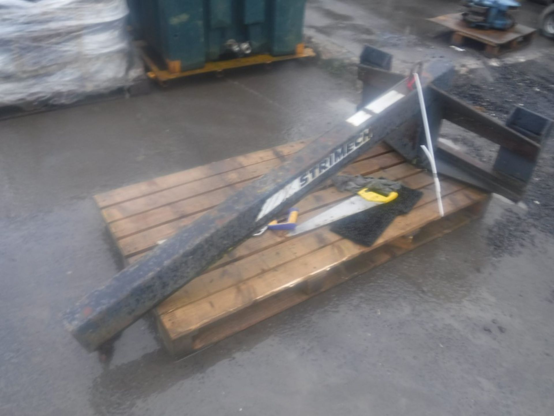 Lot 1122 - STRIMECH TELESCOPIC HANDLER PICKBAR (DIRECT UNITED UTILITIES WATER) [+ VAT]