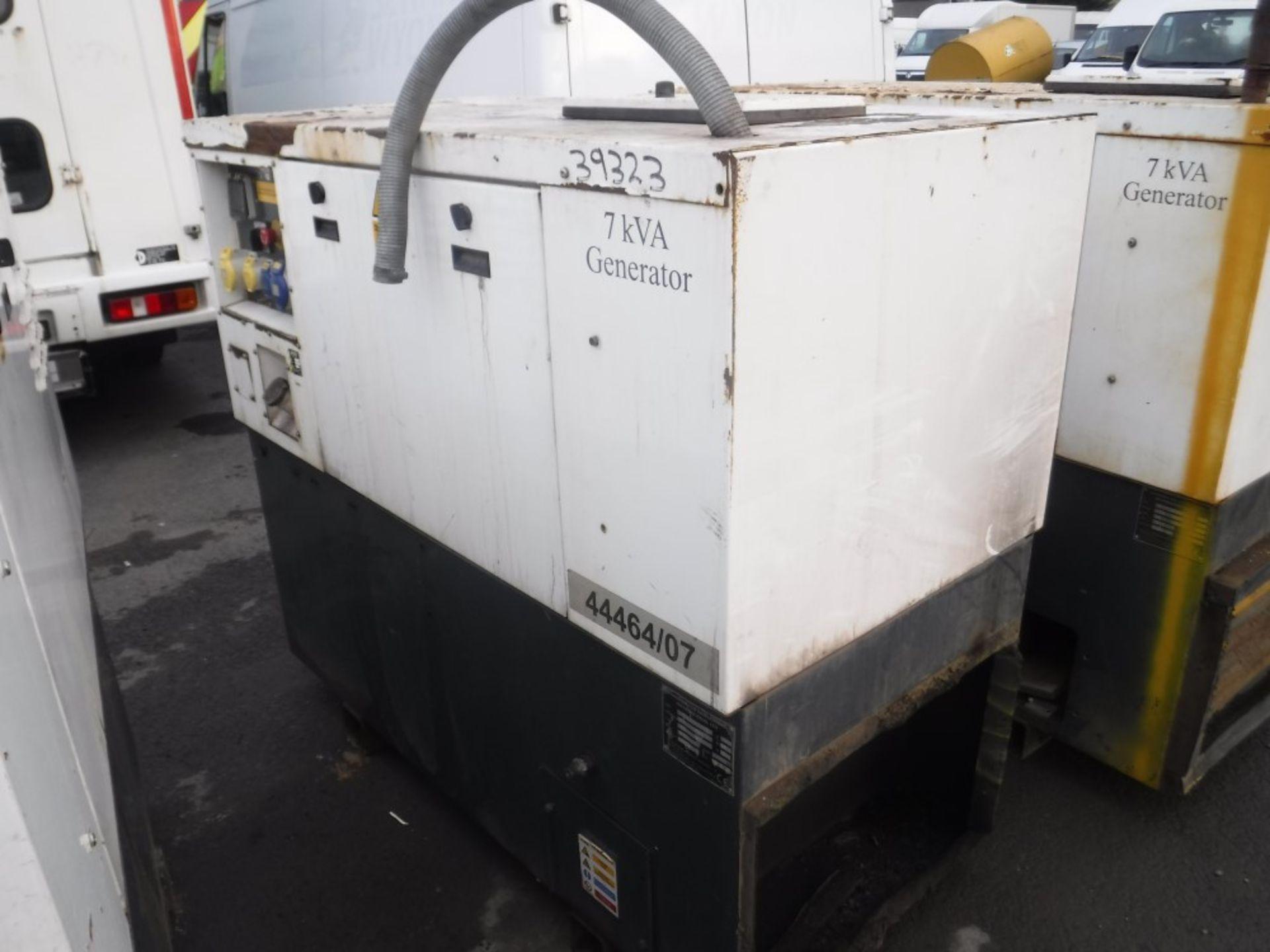 Lot 1142 - 7 KVA GENERATOR (39323) [+ VAT]