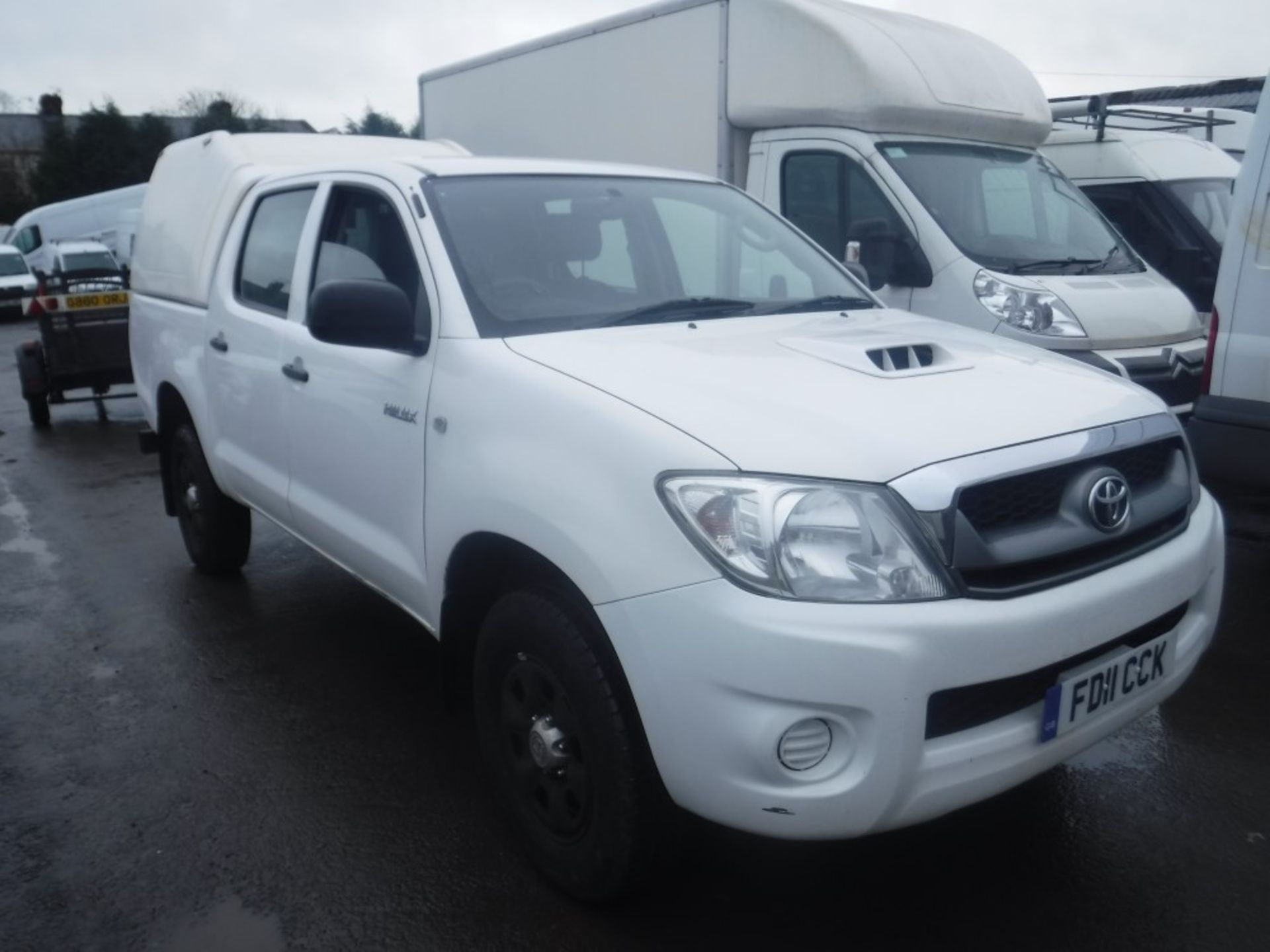 Lot 11 - 11 reg TOYOTA HI-LUX HL2 D-4D 4 X 4 DCB, 1ST REG 07/11, TEST 01/20, 85984M WARRANTED, V5 HERE, 1