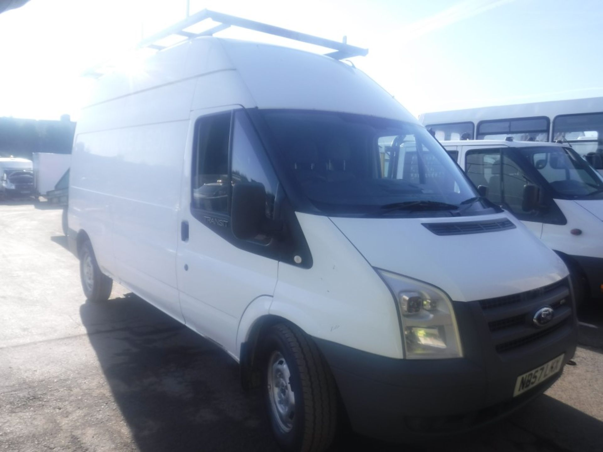 Lot 13 - 57 reg FORD TRANSIT 100 T350L LWB, 1ST REG 12/07, 90223M NOT WARRANTED, V5 HERE, 3 FORMER KEEPERS [