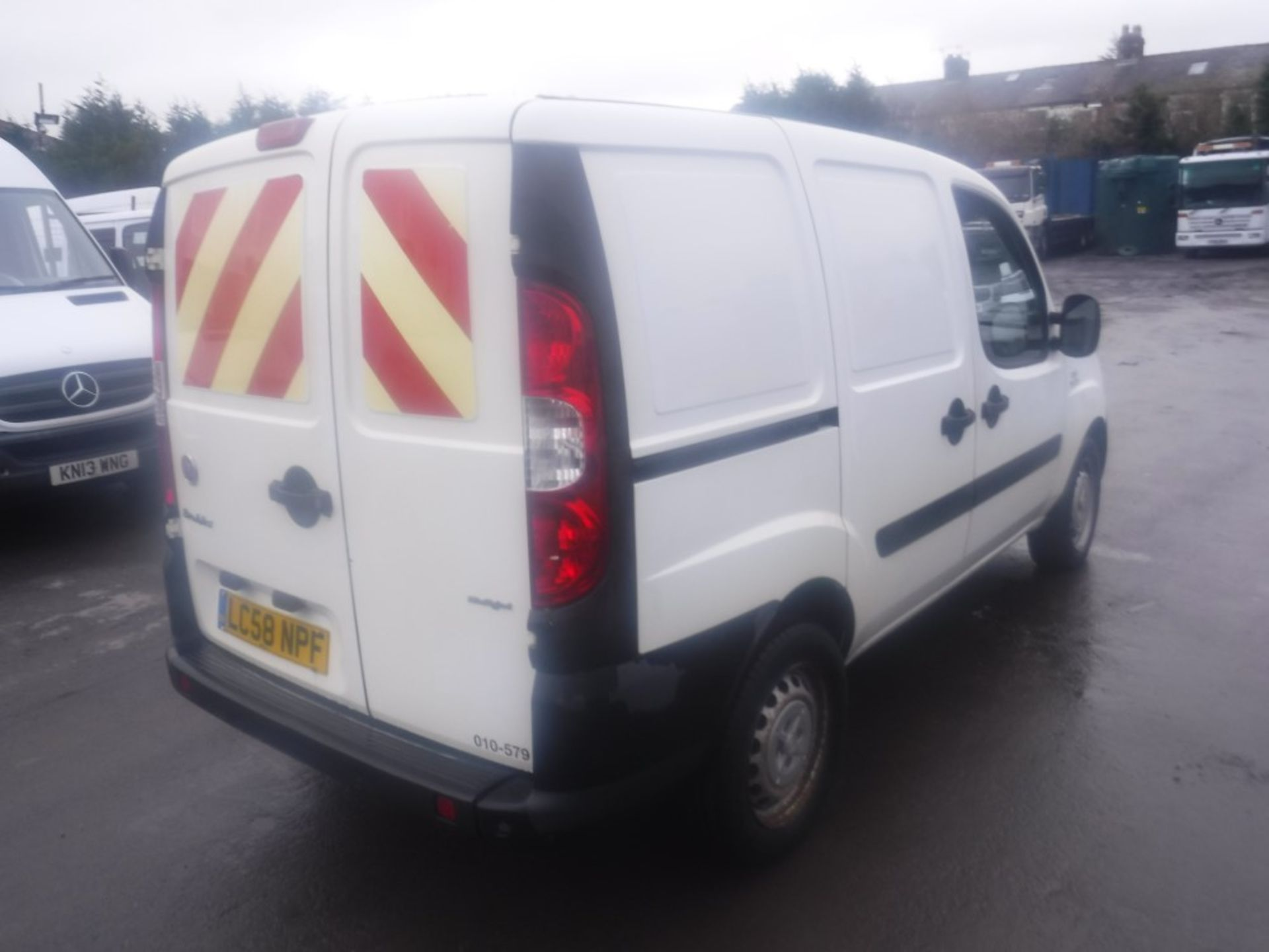 Lot 27 - 58 reg FIAT DOBLO CARGO MULTIJET 16V (DIRECT COUNCIL) 1ST REG 12/08, TEST 01/20, 103466M, V5 HERE, 1
