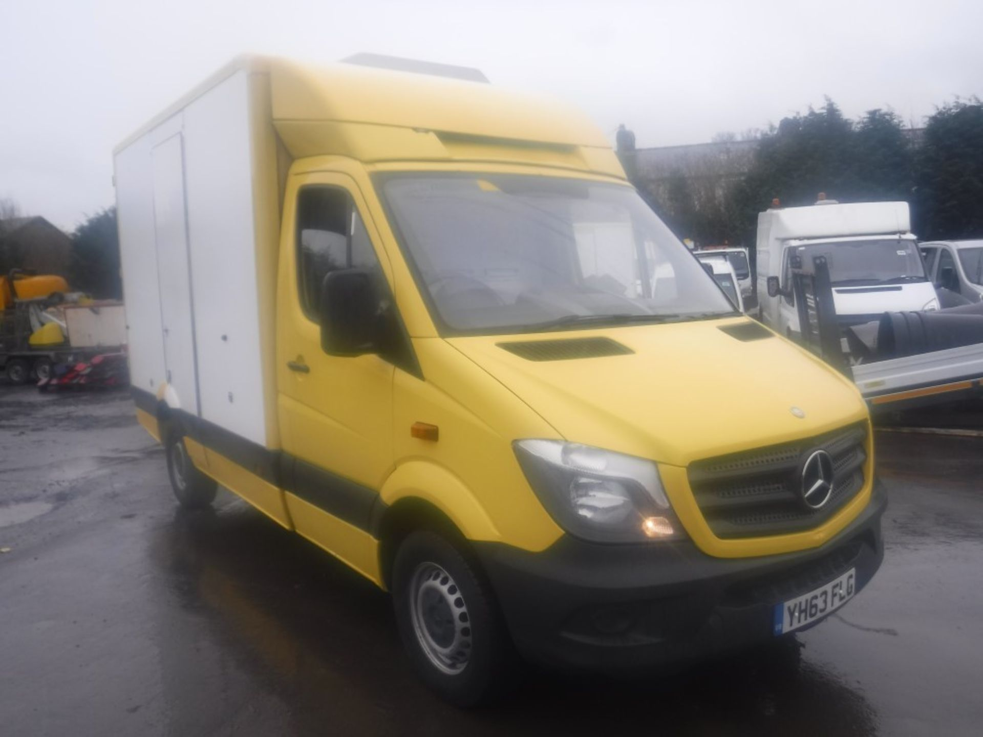 Lot 15 - 63 reg MERCEDES SPRINTER 313 CDI BOX VAN, 1ST REG 12/13, TEST 12/19, 305073M WARRANTED, V5 HERE, 1