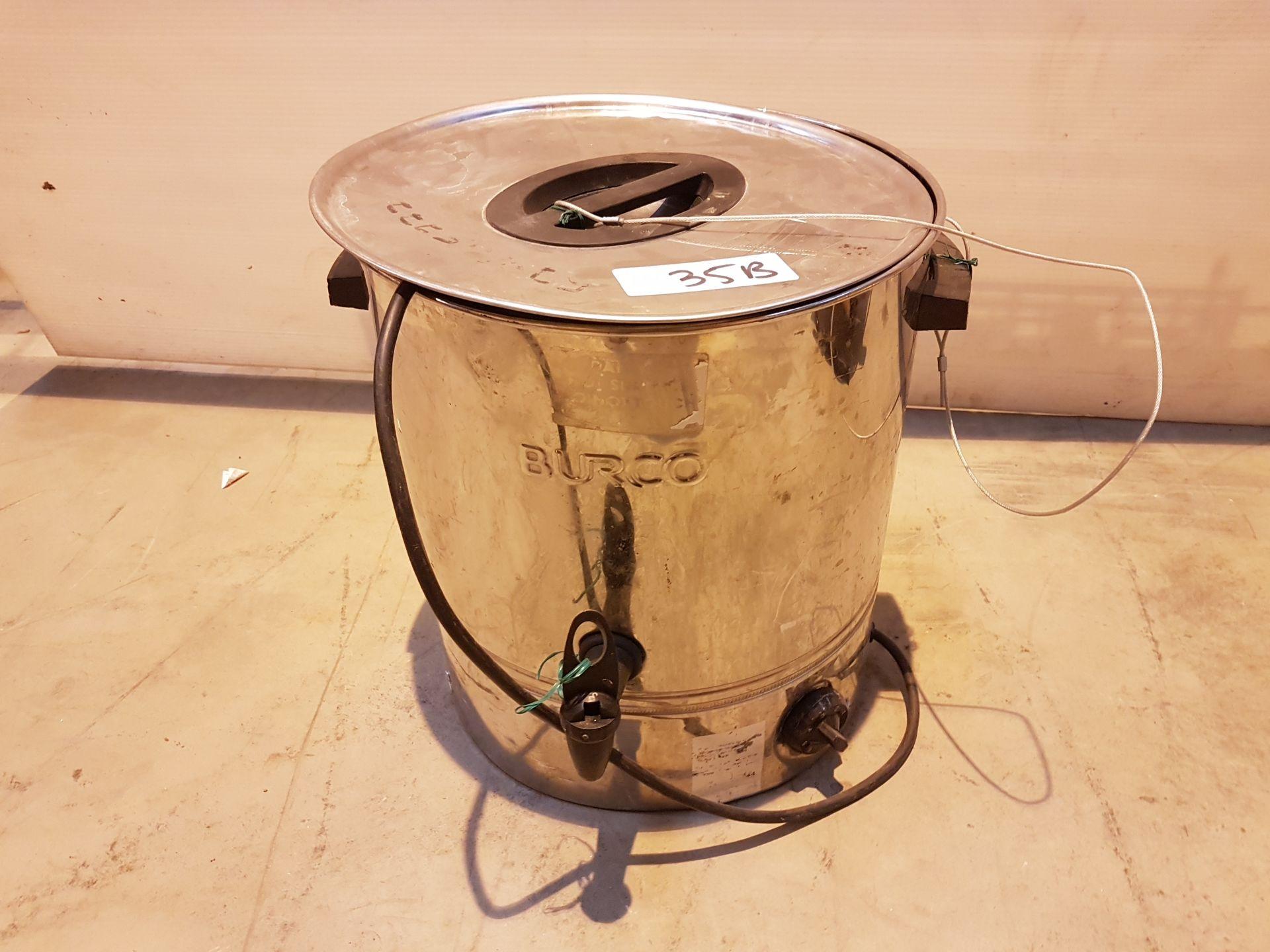 Lot 35 - 20lt Burco Boiler 240v 36975, working