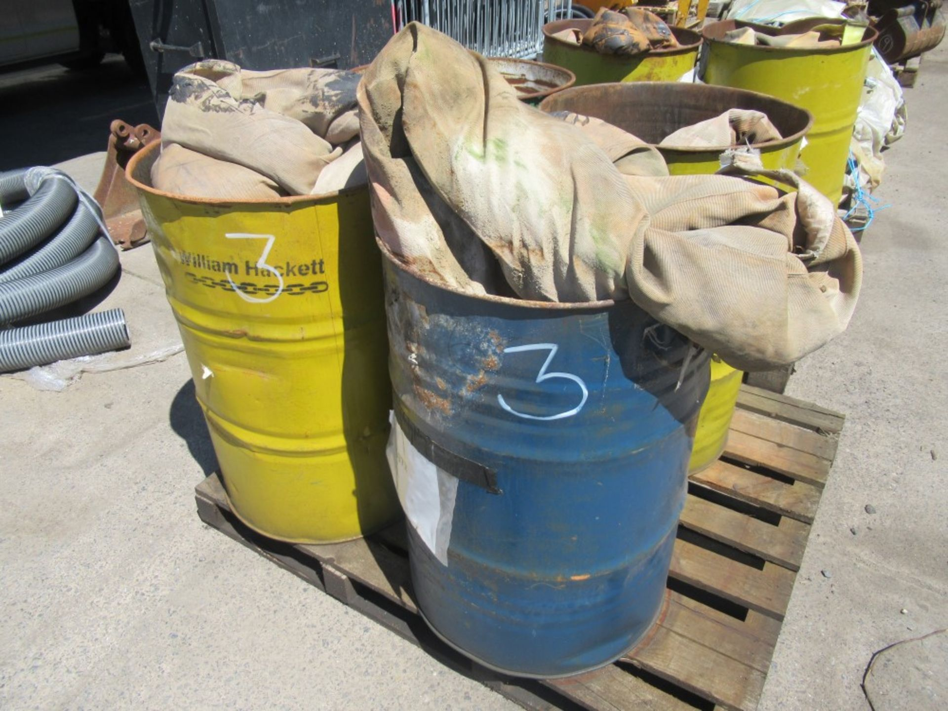 Los 1147 - 2 LOTS OF 60 TON SLINGS (3) [NO VAT]