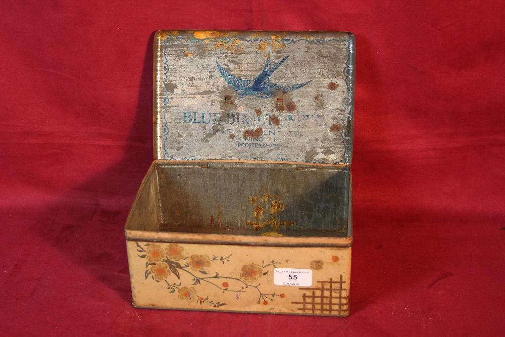 Lot 55 - A Bluebird toffee tin