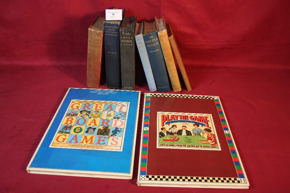 Lot 39 - A quantity of books, some relating to Magic and th