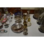 Lot 50 - A quantity of various silver plated ware to includ
