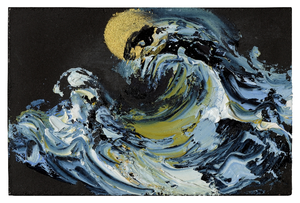 Lot 14 - Maggi Hambling painting. **PLEASE NOTE CORRECT DIMENSIONS**