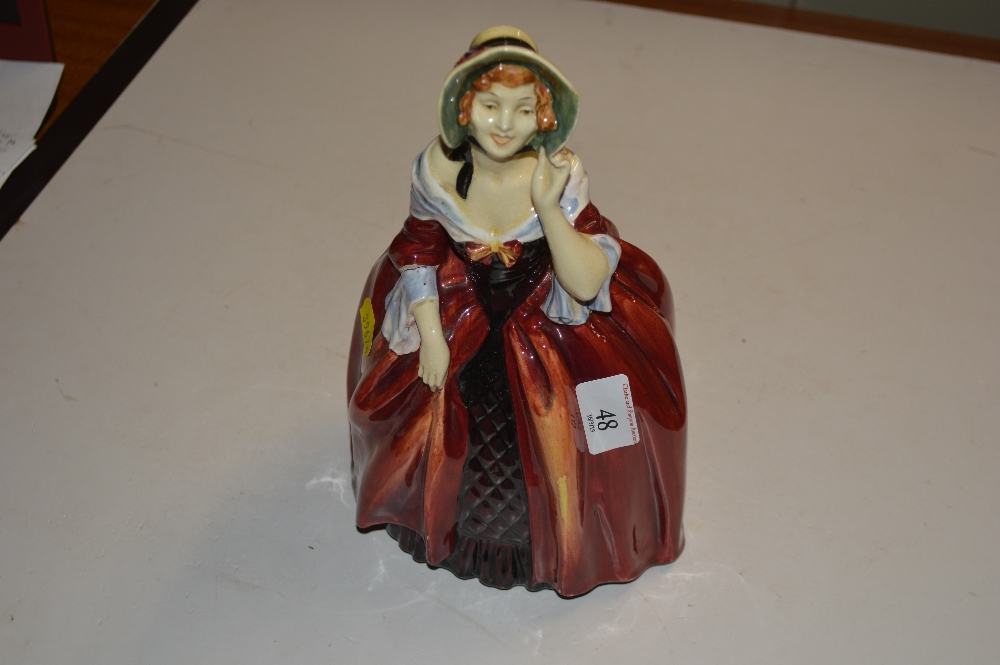 """Lot 48 - A large Royal Doulton figurine """"Margery"""" HN1413"""