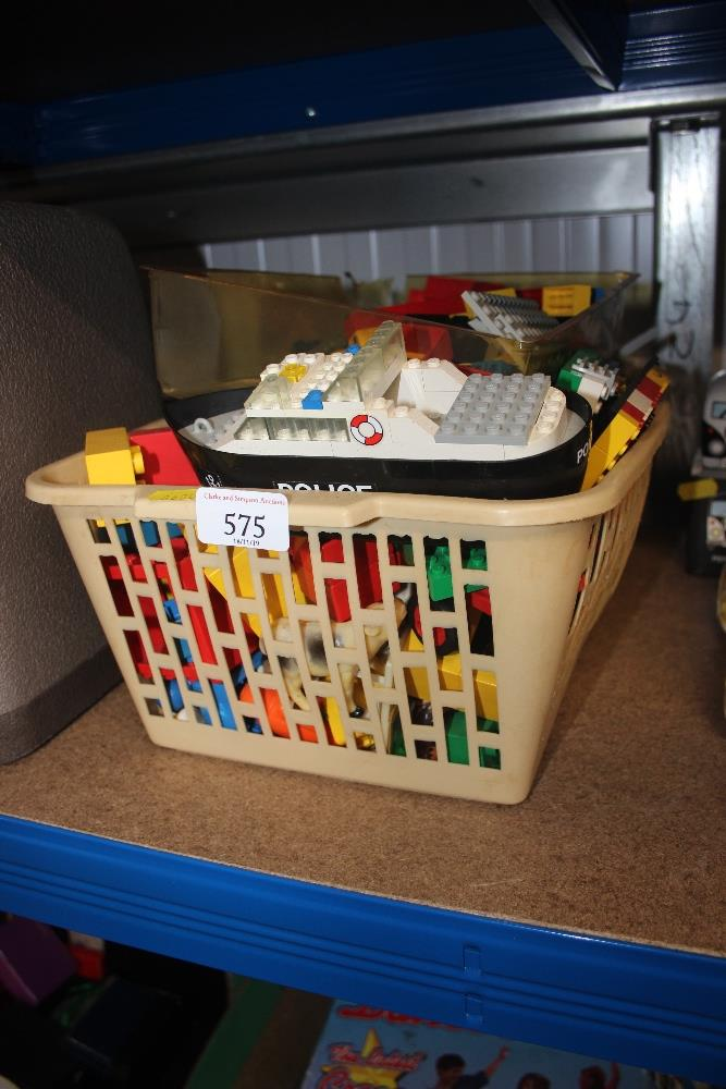 Lot 575 - A box of various Lego