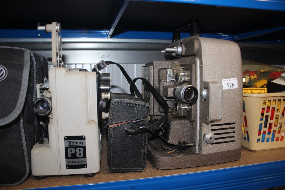 Lot 576 - A Bell & Howell projector sold as collectors item;