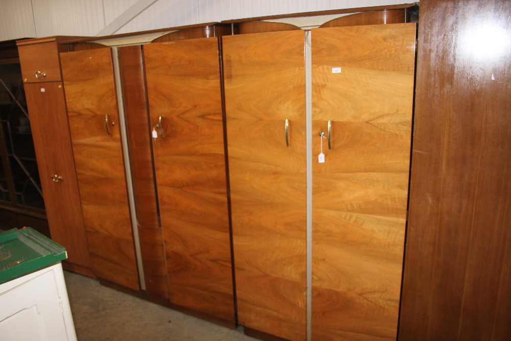 Lot 567 - Two Beautility wardrobes