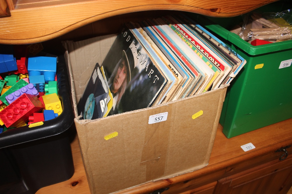 Lot 557 - A box of LPs
