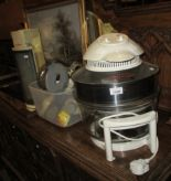 Lot 1446 - A Cookshop large halogen oven model SSTV 7865-240v and a Gemini soda stream and some attachments