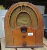 Lot 1496 - A Philco reproduction radio - 240v