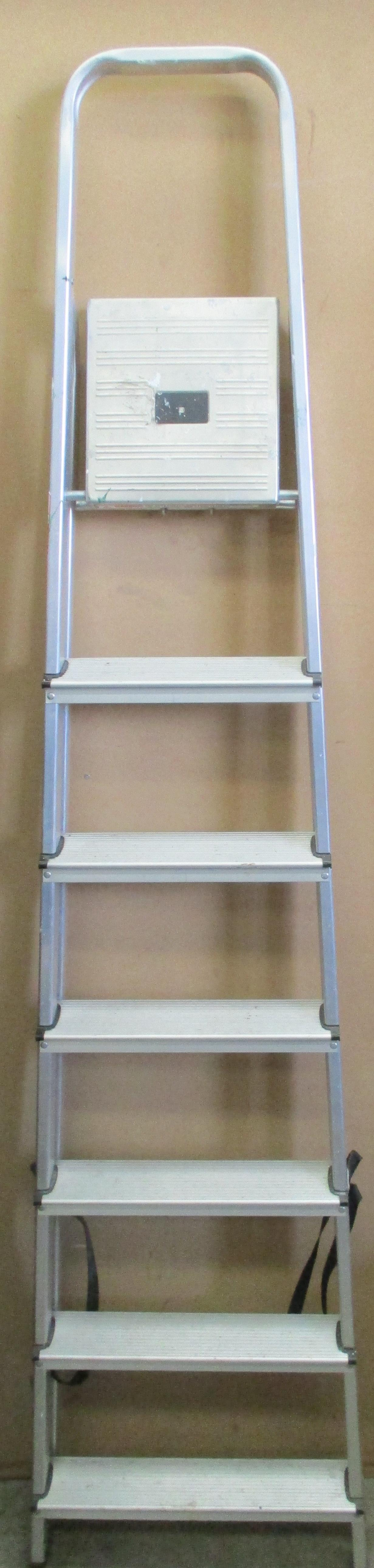 Lot 31 - A pair of Abru 6 step step ladders