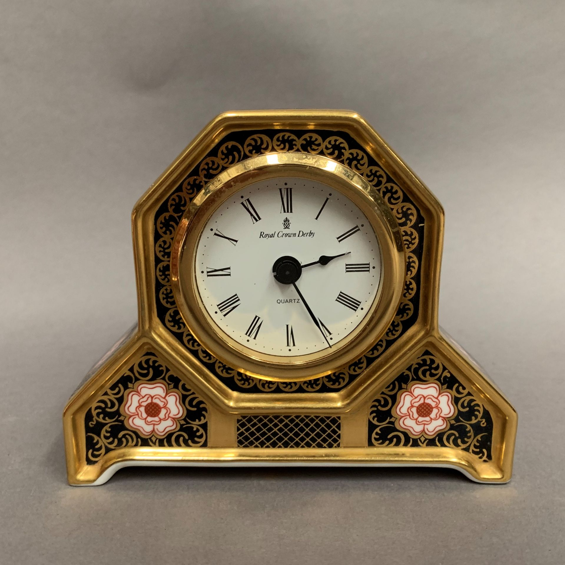 Lot 13 - Royal Crown Derby 'The Yorkshire Millennium Clock' exclusive to Peter Jones, limited edition,