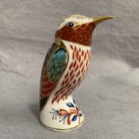 Lot 22 - Royal Crown Derby paperweight modelled as a Kingfisher LVI,