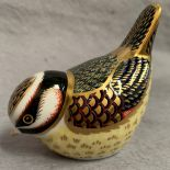 Lot 19 - Royal Crown Derby paperweight modelled as a bird, LVII,
