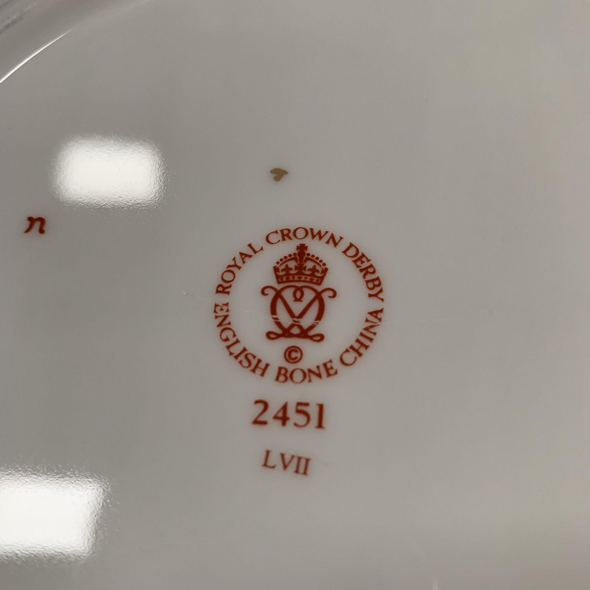 Lot 14 - Royal Crown Derby Imari plate 2451 LVLII