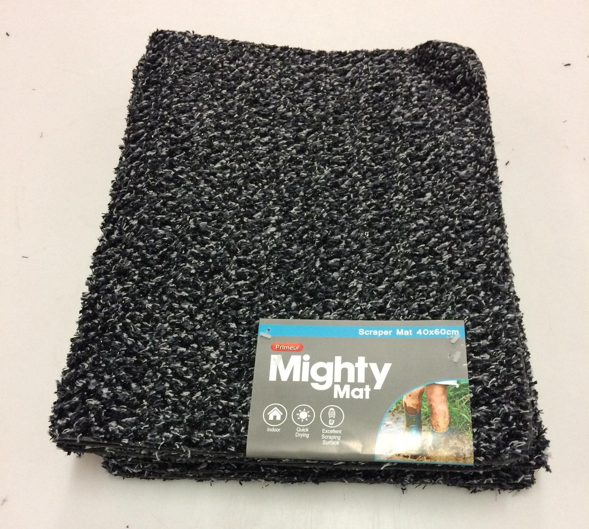 Lot 13 - 20 x Primeur Mighty Mat scraper mats 40 x 60cm