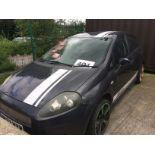 Lot 1 - SEIZED VEHICLE FIAT PUNTO ACTIVE 1.2 5 door hatchback - petrol - grey Reg. No: MK57 WVW Rec.