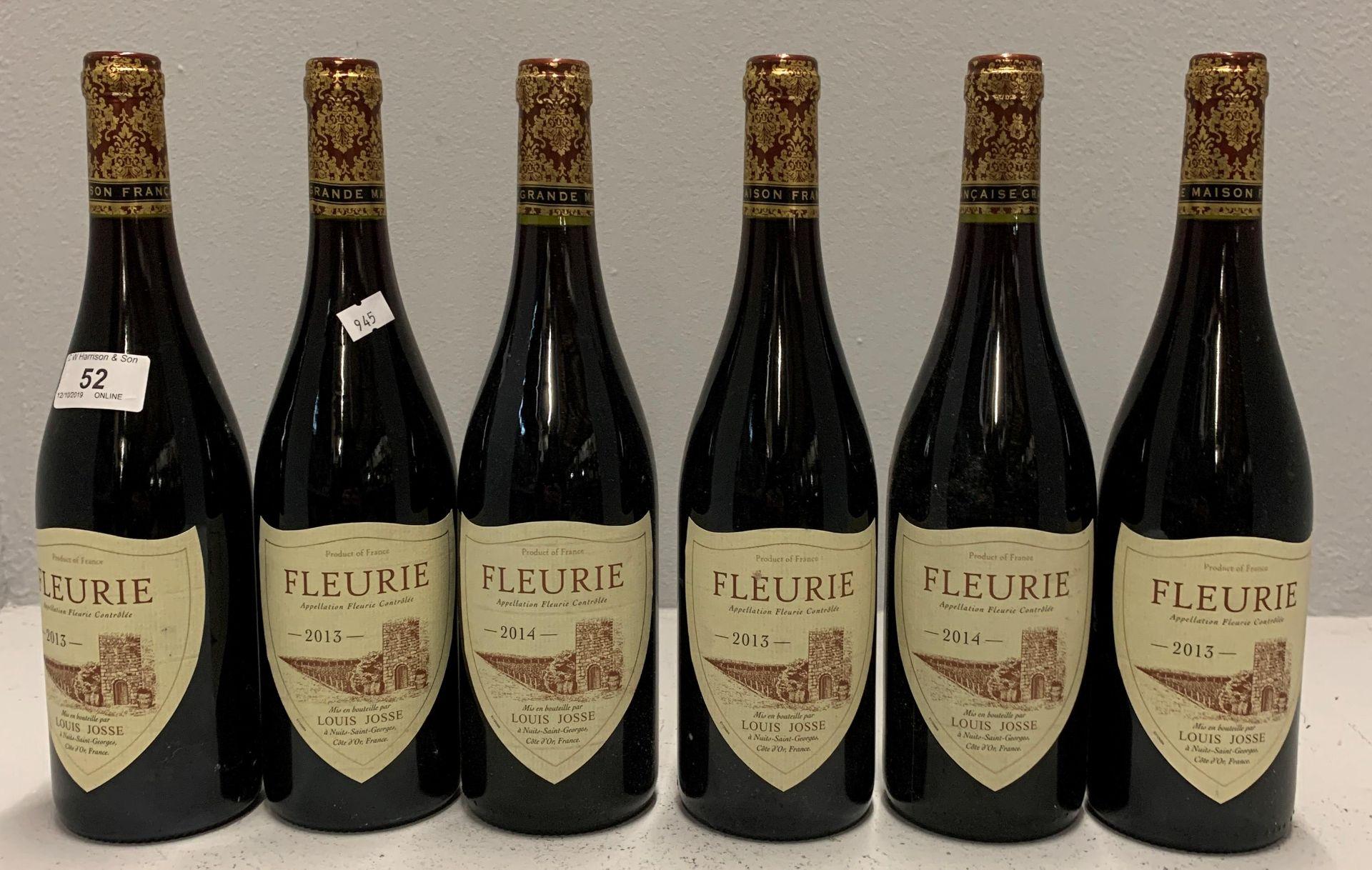 Lot 52 - 6 x 750ml bottles Louis Josse Fleurie