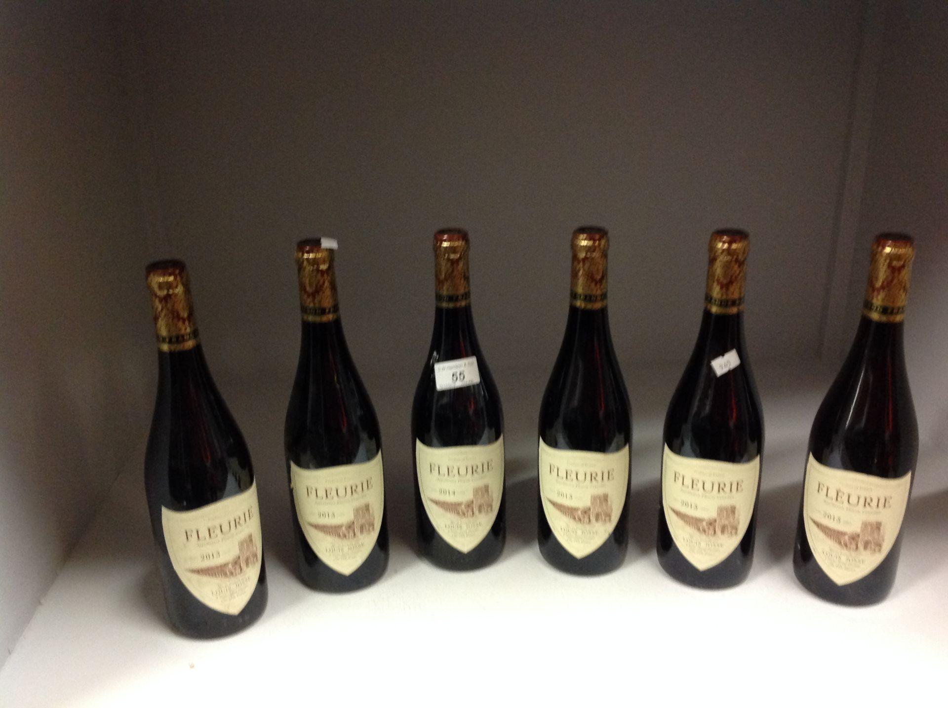Lot 55 - 6 x 750ml bottles Louis Josse Fleurie