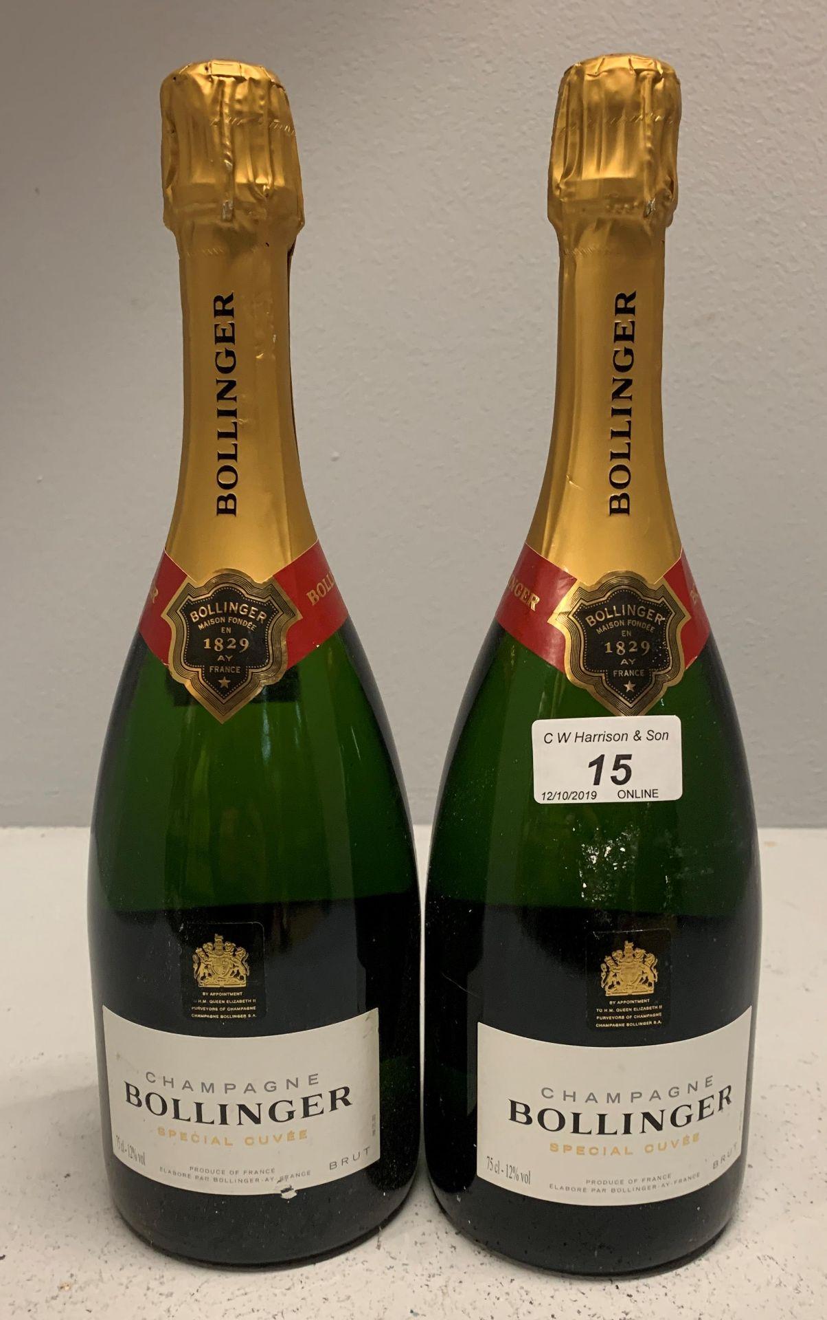 Lot 15 - 2 x 75cl bottles Bollinger Brut Special