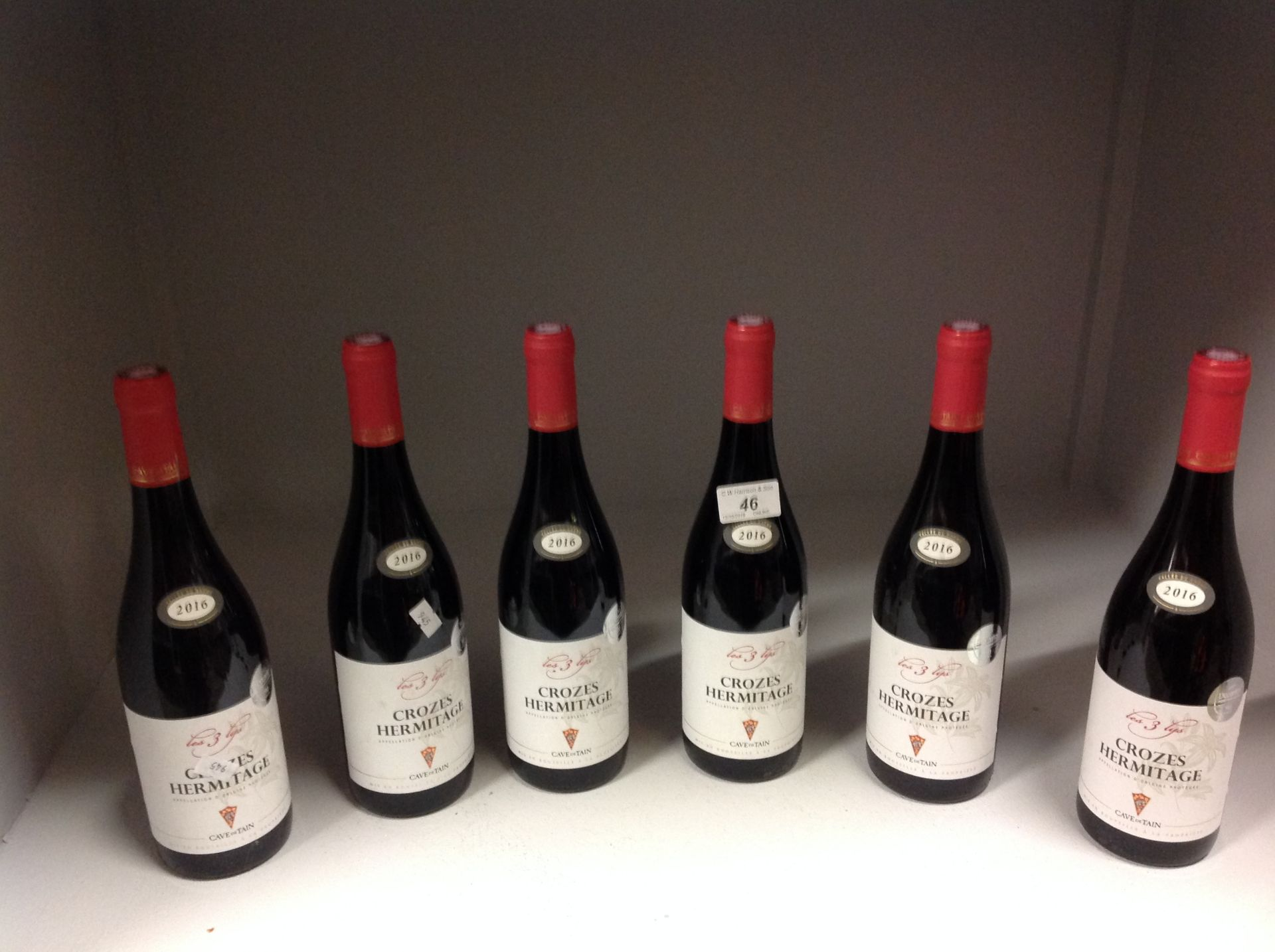 Lot 46 - 6 x 750ml bottles Crozes Hermitage - 201