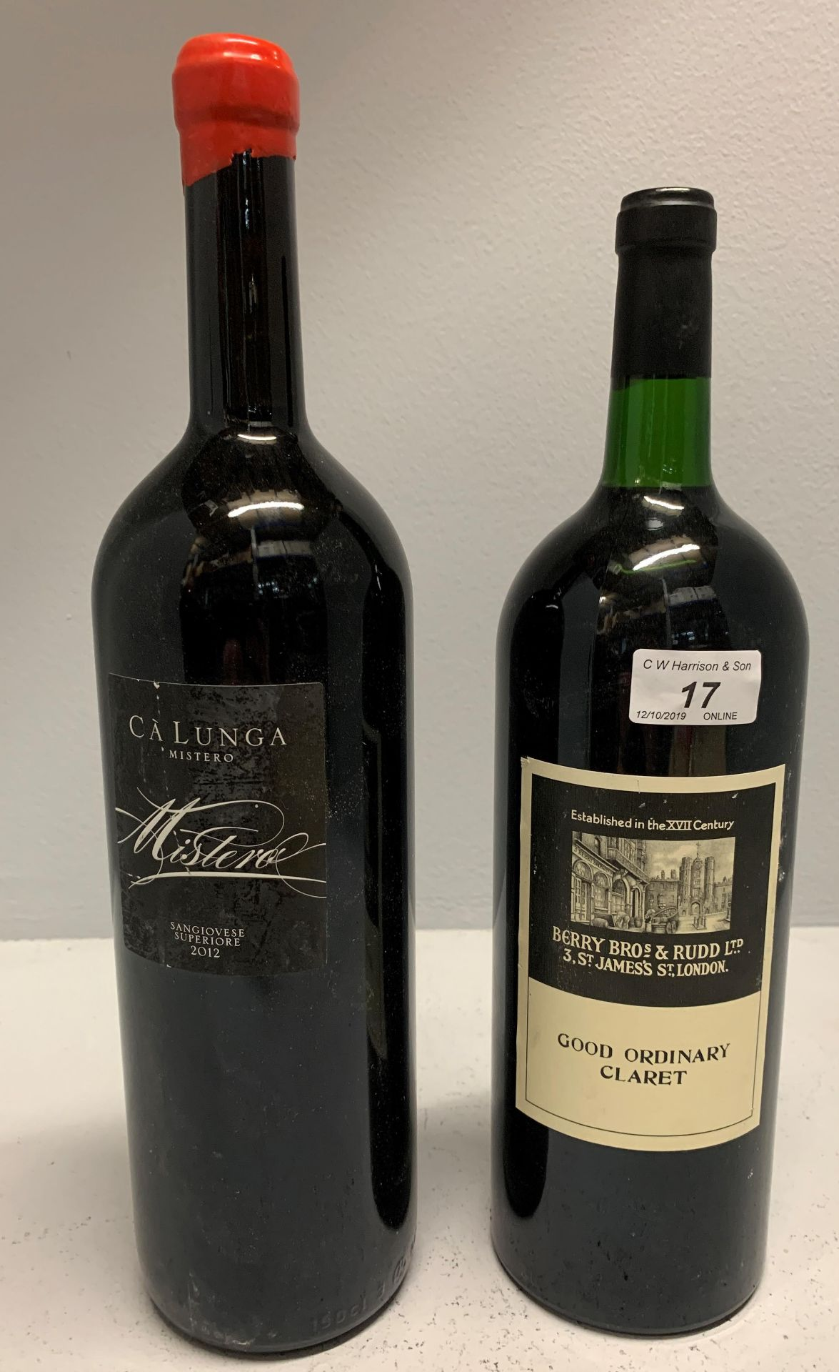 Lot 17 - 150cl bottle of Ca Lunga Sangiovese Supe