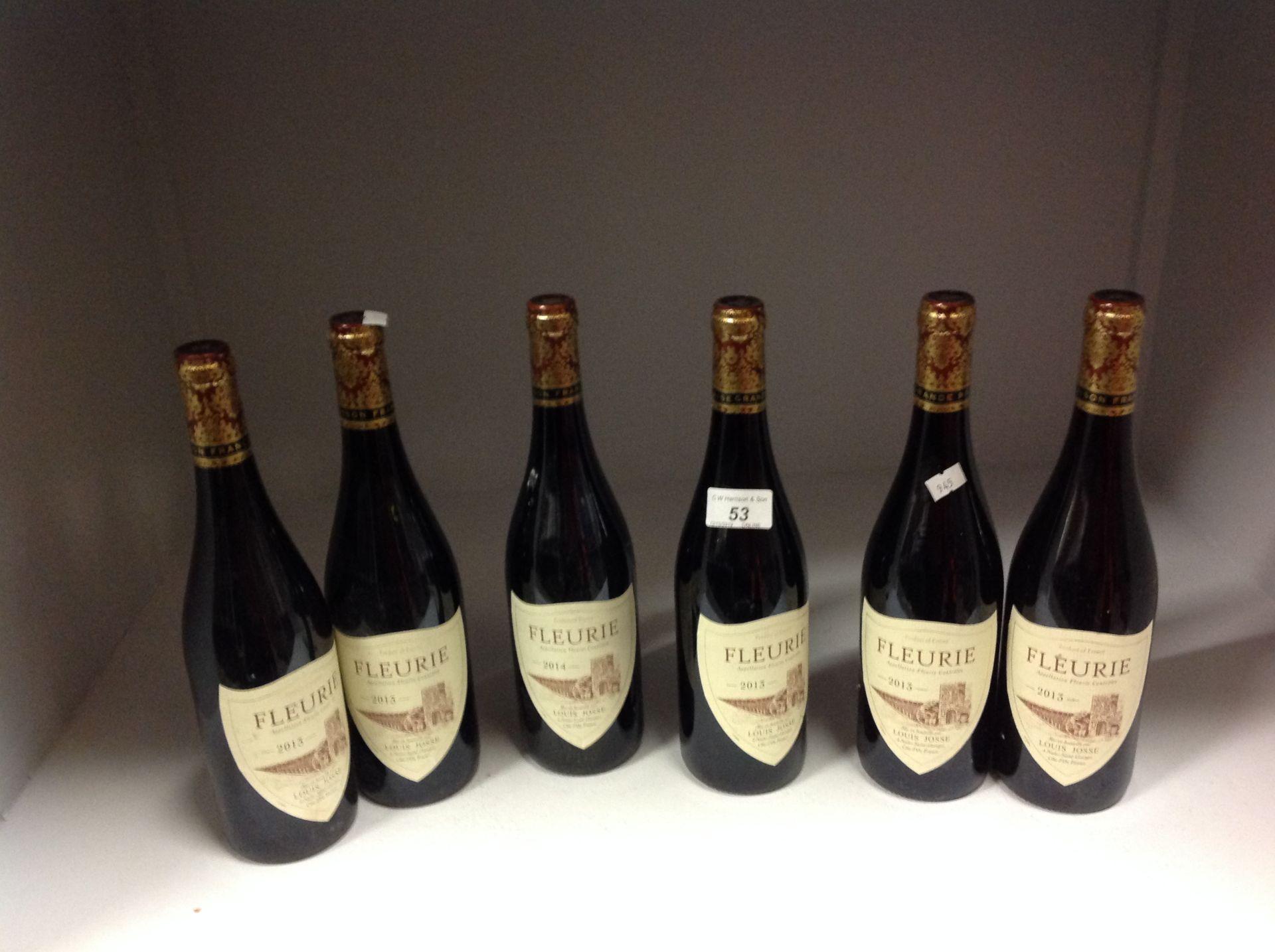 Lot 53 - 6 x 750ml bottles Louis Josse Fleurie