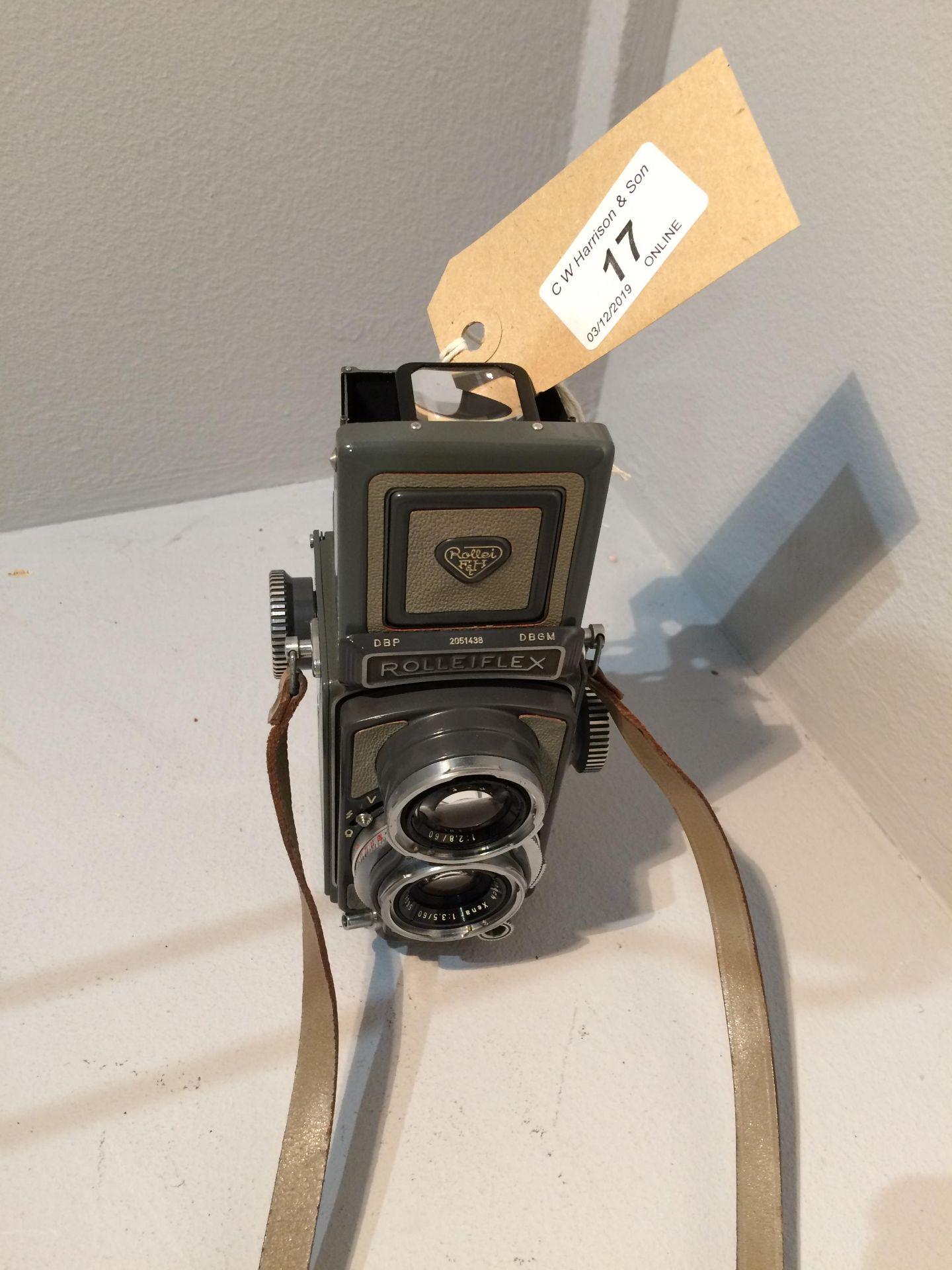 Lot 17 - Rolleiflex Franke & Heidecke 2051438 camera, Xenar 1..3.