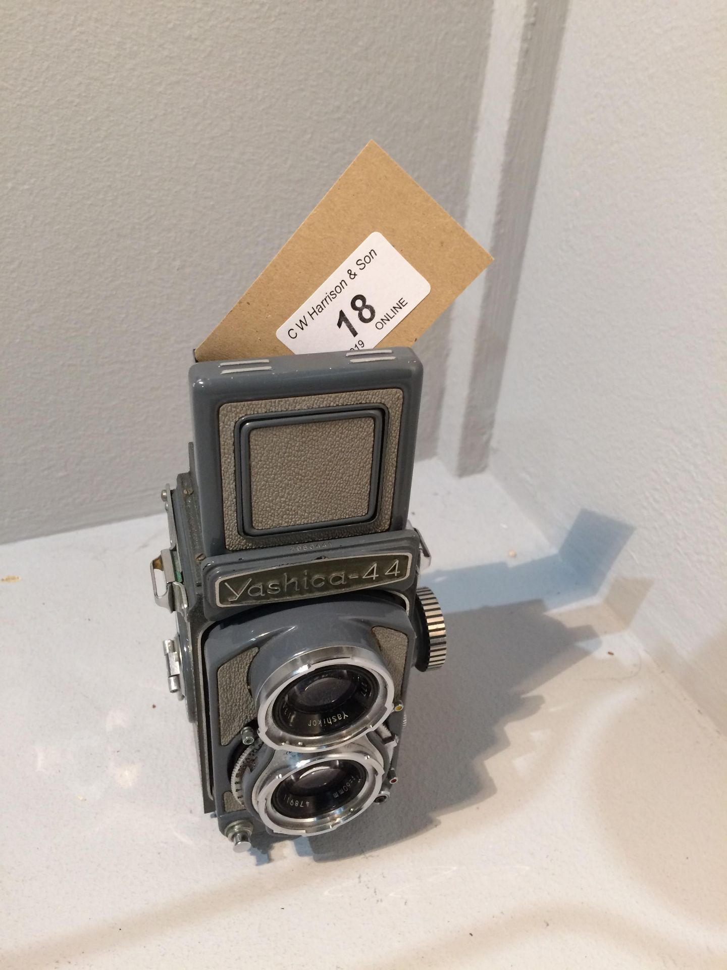 Lot 18 - Yashica - 44 Copar SV camera with Yashikor 1..3.