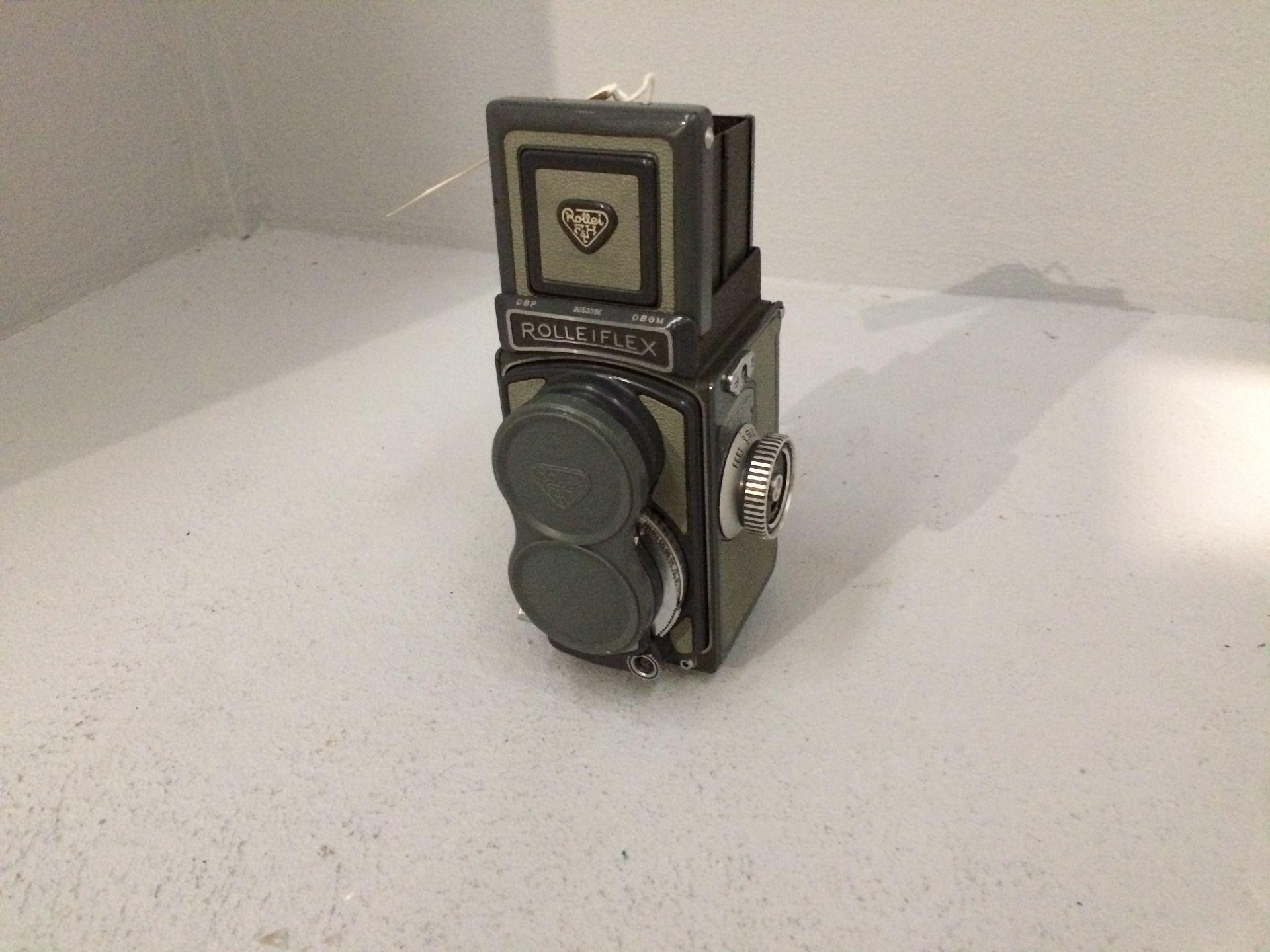 Lot 2 - Rolleiflex DBGM camera, serial no.