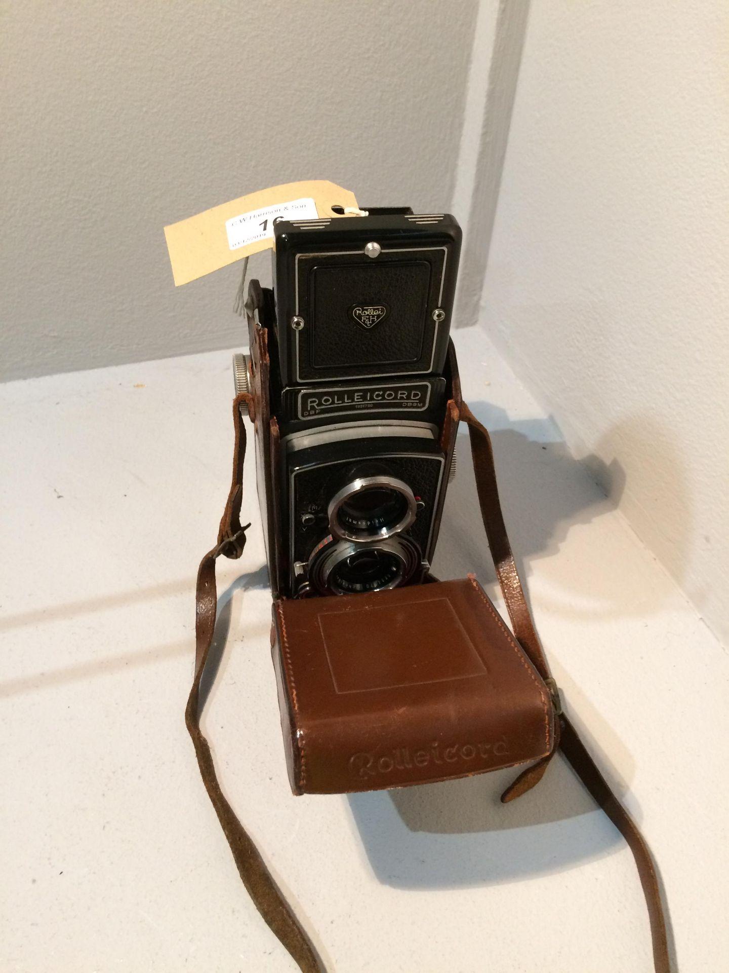 Lot 16 - Rolleicord Franke & Heidecke DGBM no. 1931790 camera, Xenar 1..3.